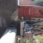 betonvágás ablak